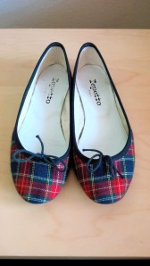Repetto, Ballerina Cendrillon Tartan-Plaid Cotton
