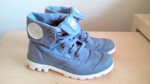 Palladium, Blanc Hi in Dream blue and white