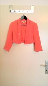 Forever 21, cropped pink blazer