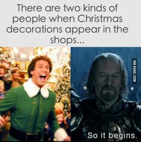 When Christmas comes