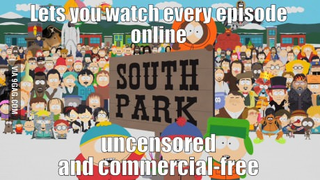 Never get tired of South Park