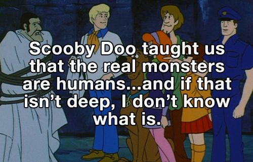We should learn from Scooby