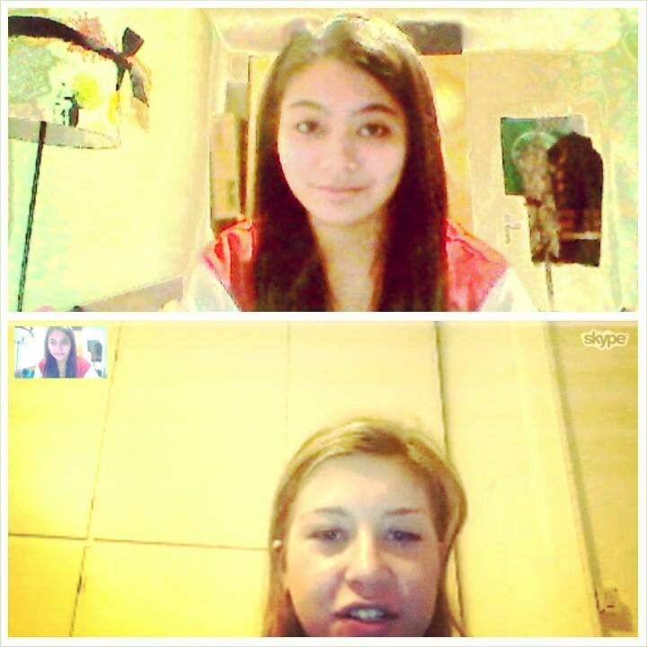 Skype session with Tea!