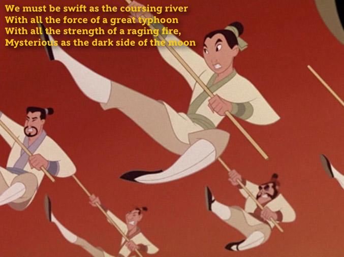 LSS: I'll Make A Man Out of You - Mulan
