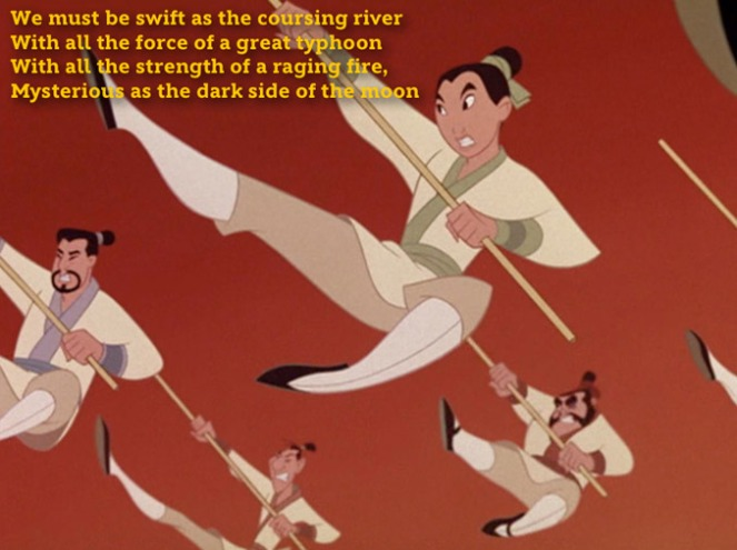 LSS: I'll Make A Man Out of You - Mulan