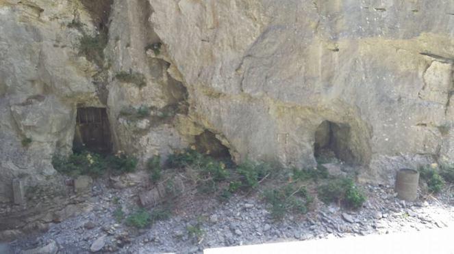 Underground cavern from WWII